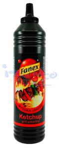 Ketchup ostry 1000g but. Fanex